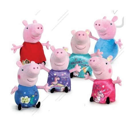 LaGamba: PELUCHE PEPPA IT�S MAGIC  20CM
