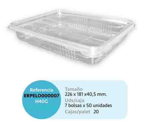 LaGamba: LONCHEADO PET H40G 226X181X40,5mm