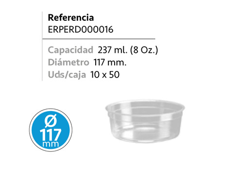 LaGamba: ENVASE REDONDO PET 237ML