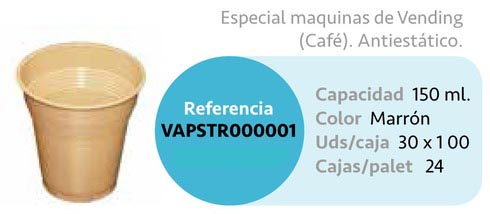 LaGamba: VASO PS VENDING 150ml