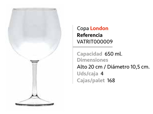 LaGamba: COPA TRITAN LONDON 650ml