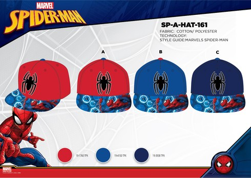 LaGamba: GORRA HIP HOP NI�O SPIDERMAN