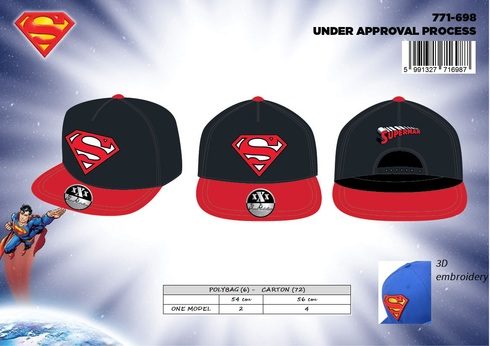 LaGamba: GORRA HIP HOP NI�O SUPERMAN
