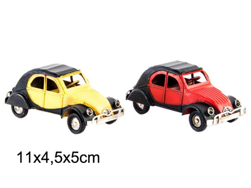 LaGamba: COCHE DECORACION METAL 2 CV