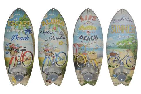 LaGamba: DECORACION PARED ABREBOTELLAS MADERA SURF
