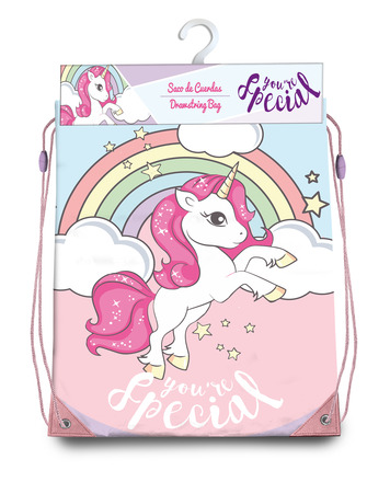 LaGamba: GYM BAG UNICORNIO 40X33 CM.