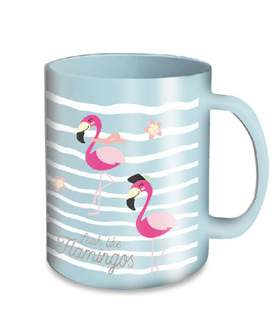LaGamba: TAZA FLAMINGO MICRO 350 ML.