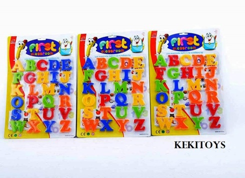 LaGamba: BLISTER LETRAS MAGNETICAS 26X38