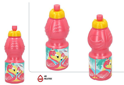 LaGamba: BOTELLA SPORT 400ML FLAMINGO