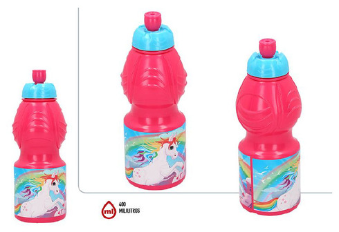 LaGamba: BOTELLA SPORT 400ML UNICORNIO