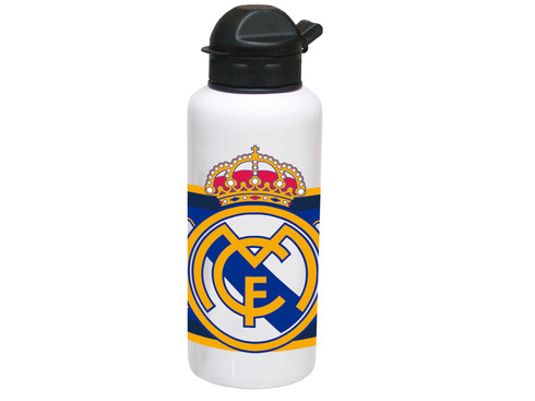 LaGamba: BOTELLA REAL MADRID ALUMINIO