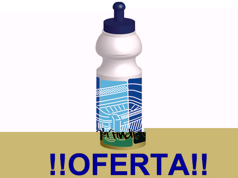LaGamba: BOTELLA REAL MADRID SPORT 350 ml.