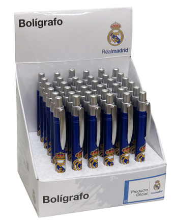 LaGamba: BOLIGRAFO REAL MADRID BASIC