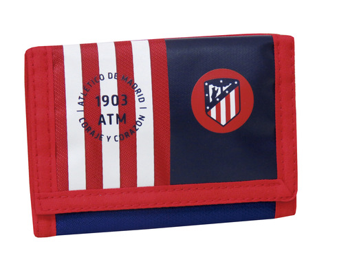 LaGamba: BILLETERA ATLETICO DE MADRID
