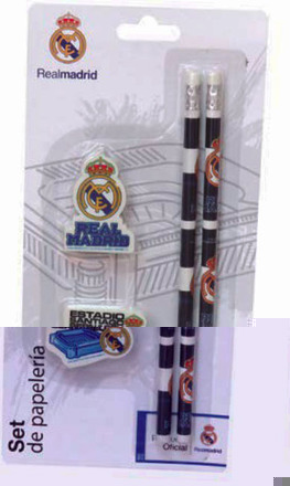 LaGamba: BISTER REAL MADRID 4 PCS