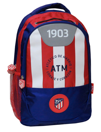 LaGamba: MOCHILA ATL MADRID 42 CM. ADAPTABLE A CARRO