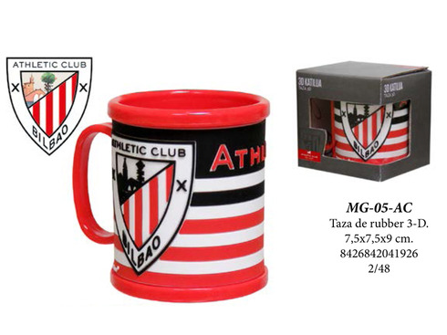 LaGamba: TAZA RUBBER 3D ATHLETIC CLUB