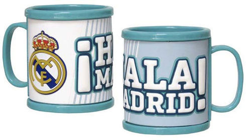 LaGamba: TAZA RUBBER REAL MADRID