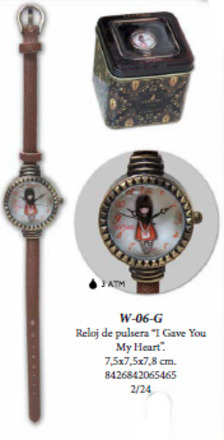 LaGamba: RELOJ PULSERA CAJA GORJUSS-I GAVE YOU MY HEART