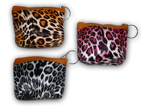 LaGamba: MONEDERO ANIMAL PRINT C/24