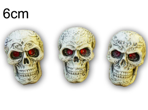 LaGamba: CALAVERA RESINA MINI TATOO