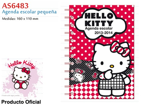 LaGamba: AGENDA R-AS6483 ESCOL. H.KITTY