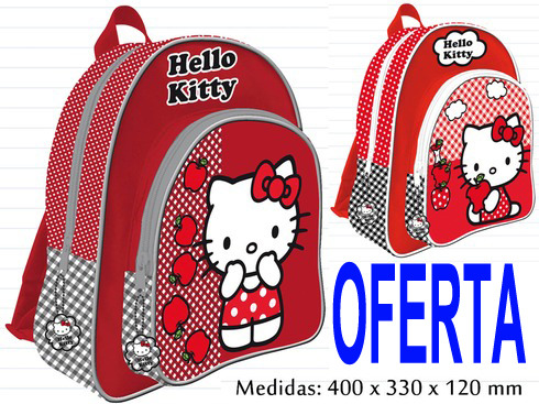 LaGamba: MOCHILA R-AS7156 KITTY 40CM.