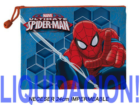 LaGamba: NECESER SPIDERMAN IMPERMEABLE