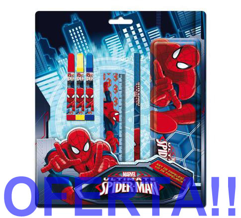 LaGamba: BLISTER SPIDERMAN 6PCS