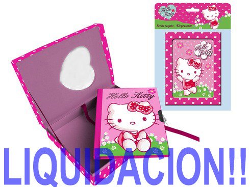 LaGamba: DIARIO HELLO KITTY CAJA
