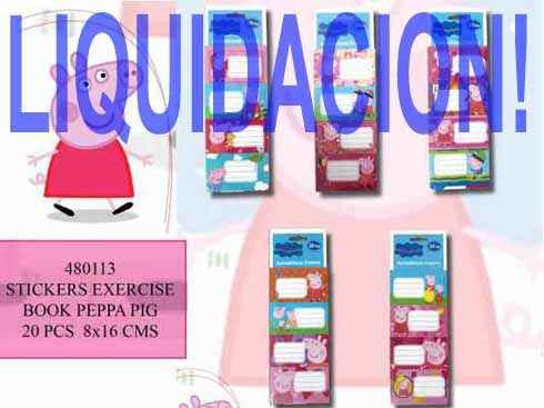 LaGamba: STICKERS R-480113 PEPPA PIG 8X