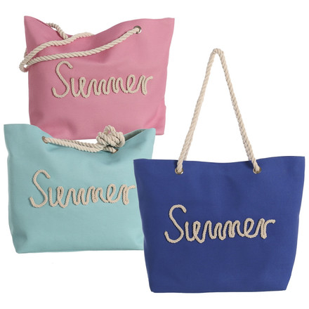 LaGamba: BOLSO PLAYA SUMMER ROPE 51 X 16 X 36
